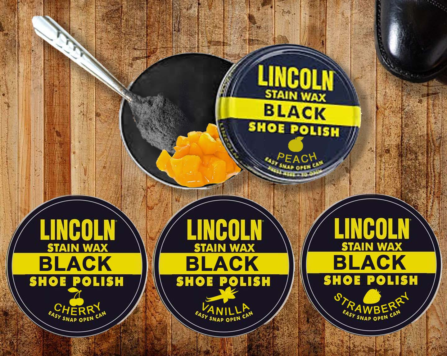 super quality quite nice sports shoes Bootlickers Rejoice: Company Introduces Flavored Shoe Polish.